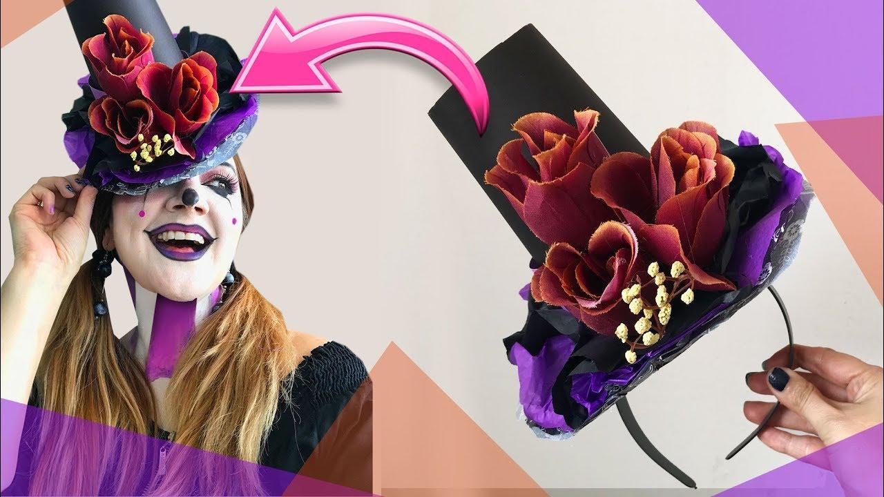 Sombrero Para Disfraz De Payaso Catrina O Sombrerero Chuladas Creativas