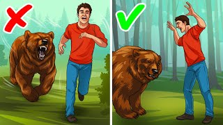 The Easiest Way to Survive a Bear Attack