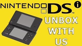 распаковка обзор Nintendo DSi и сравнение с DS Lite unboxing