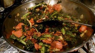 Kale With Bacon & Tomato Recipe