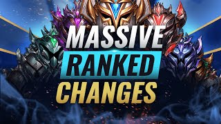 HUGE RANKED UPDATE: Promos GONE + Report Punishments & MORE - League of Legends
