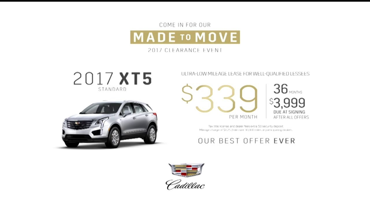 Cadillac Xt5 Tv Ad Commercial September 2017 Youtube
