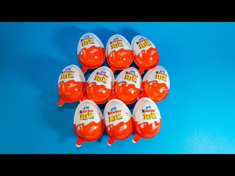 10 Kinder JOY 2019 Eggs NEW TOYS!