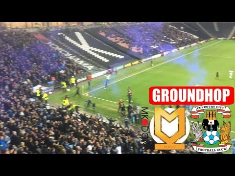 Groundhop MK Dons FC VS Coventry City /Stadium MK (Fa Cup 4th Round)