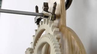Law Clock - Scroll Saw Woodworking & Crafts