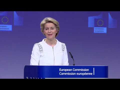Tërmeti/ KE dhuron 15 milionë euro për Shqipërinë, Ursula Von der Leyen: Ky është hapi i parë!
