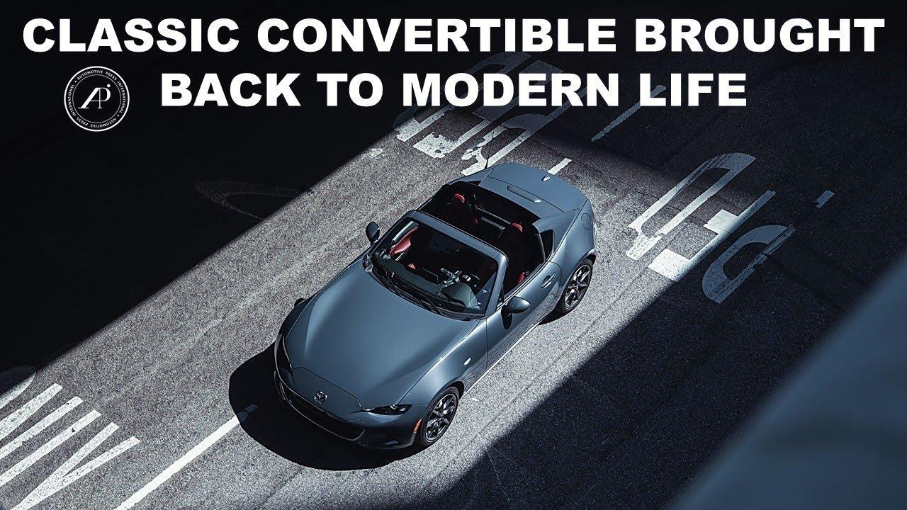 CLASSIC CONVERTIBLE BROUGHT BACK TO MODERN LIFE: THE 2021 Mazda MX-5 Miata RF