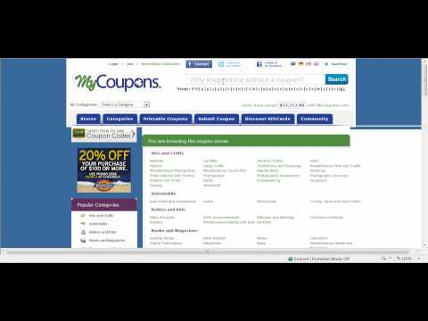 How To Use Online Coupons and Coupon Codes - MyCoupons.com