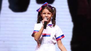 """Панькина Варвара """"Марш энтузиастов""""- Online-Шоу - Финал"""