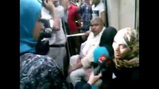 راااجل يفضح مذيعه ام بى سى مصر اليوم - فضيحة برنامج منى الشاذلي في المترو !!