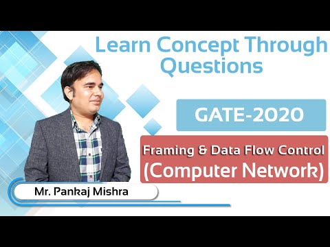 GATE Most Expected Questions & Solution-3.Computer Network (Framing Data Flow Control)