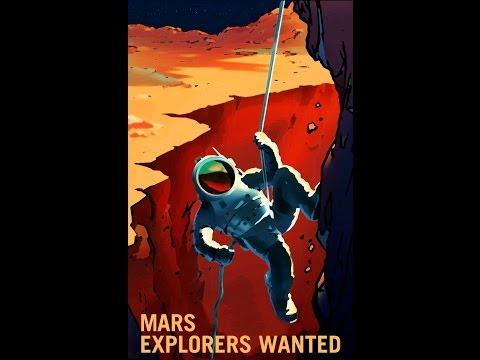 NASA's Cool Mars Posters