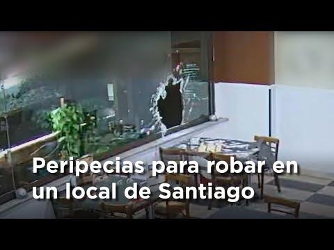 Robo en un local de Santiago