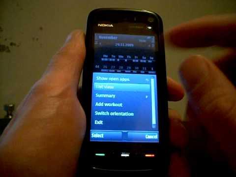 nokia sports tracker  u0412 u0438 u0434 u0435 u043e u0438 u043d u0441 u0442 u0440 u0443 u043a u0446 u0438 u044f  u0414 u0435 u043c u043e u044e u043d u0438 u0442 nokia Nokia 5300 Nokia Phones 2010