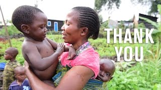 A thank you from Mercy Corps