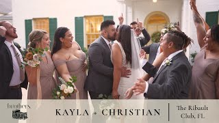 Heart-melting groom reaction | EMOTIONAL WEDDING FILM | The Ribault Club, Jacksonville FL