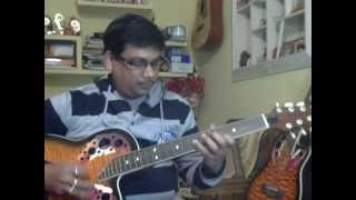 Ek mai aur ek tu Dono mile is tarah solo on guitar