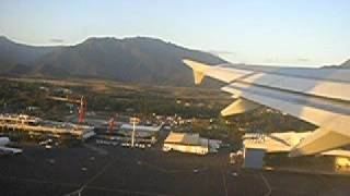 Taking off from Tontouta Airport New Caledonia