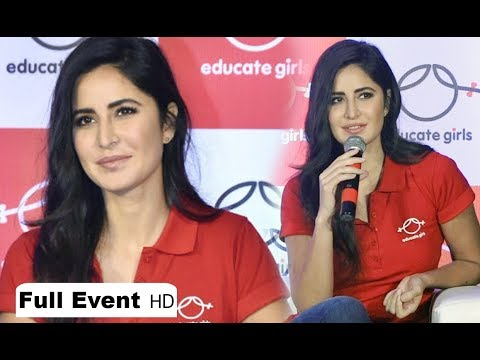 Katrina Kaif Interview At Educate Girls NGO Event - Full Video