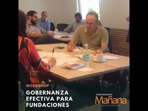 Corporación Mañana participó en el Workshop Gobernanza Efectiva para Fundaciones