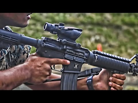 U.S. Marines Train With Pistols And Rifles (2020)