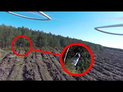 4 gruselige Drohnen-Videos, die KEINER erklären kann..
