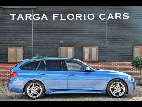 BMW 320d Touring M Sport Performance 8 Speed Automatic In Estoril Blue