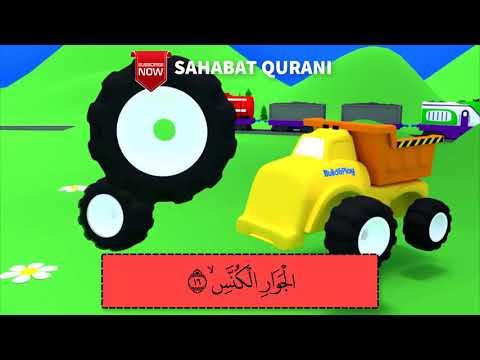 Murottal Belajar Ngaji Animasi Surat At Takwir Animasi Juz Amma Metode Ummi Kids Moment