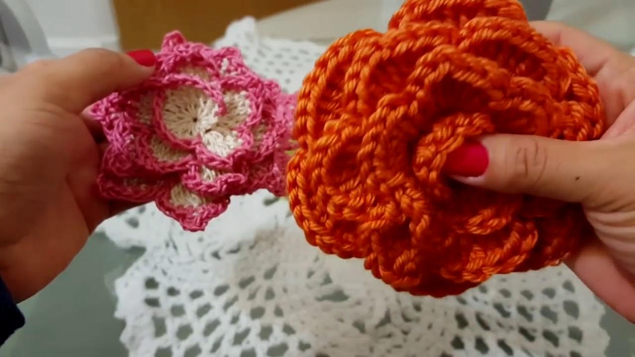 Diadema cintur n cintillo a crochet ganchillo youtube - Diademas a crochet ...