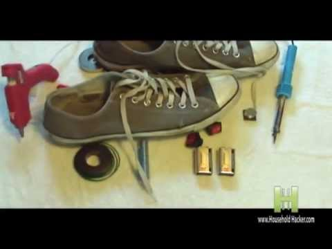Cách làm giày bay