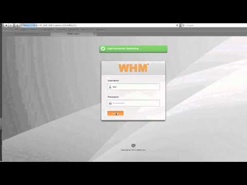 WHM cPanel Initial Setup on Godaddy (How to)
