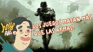 Sidequest: ¿Los juegos matan más que las armas? - Hey Arnoldo