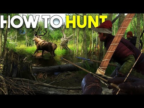 How To HUNT! - Kingdom Come Deliverance TUTORIAL
