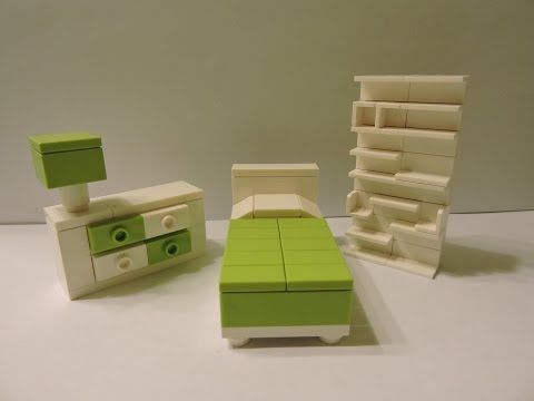 How To Make A Lego Teen Bedroom Set