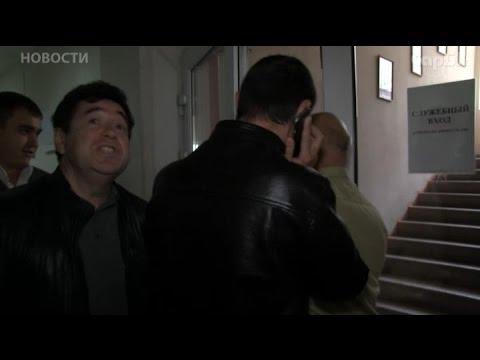 Конфликт с охраной офиса Росгосстрах в Саратове