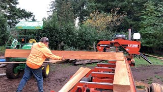 Reject to Paycheck. Milling scrap wood into valuable lumber