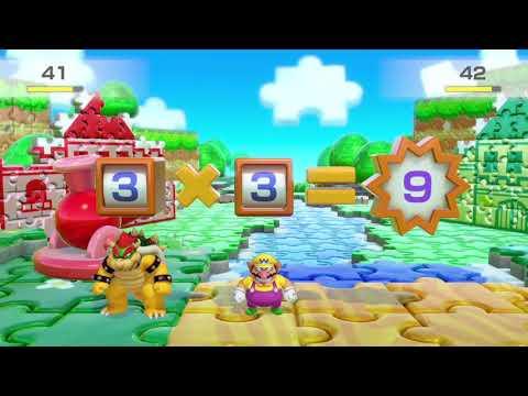 Super Mario Party (Hard, Mini games ) Player Koopa Troopa vs Wario vs Bowser, vs Donkey Kong