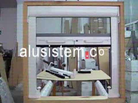 Mosquitera enrollable con freno retenedor doovi for Mosquitero magnetico