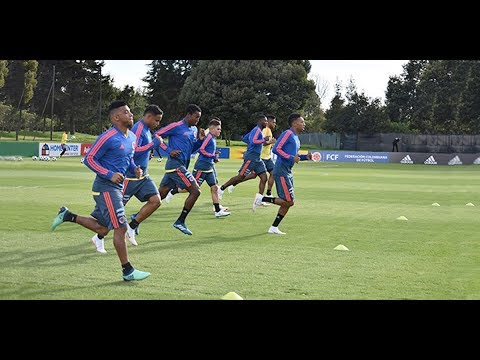 17 jugadores de la Selección Colombia adelantan entrenamientos en Bogotá