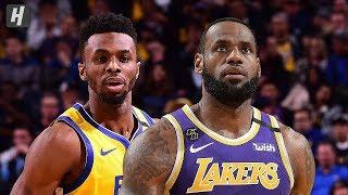 Los Angeles Lakers vs Golden State Warriors - Full Highlights   February 8   2019-20 NBA Season