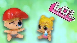 Куклы ЛОЛ Мультики для детей Сестрички ЛОЛ Ссорятся Видео про игрушки LOL Surprise