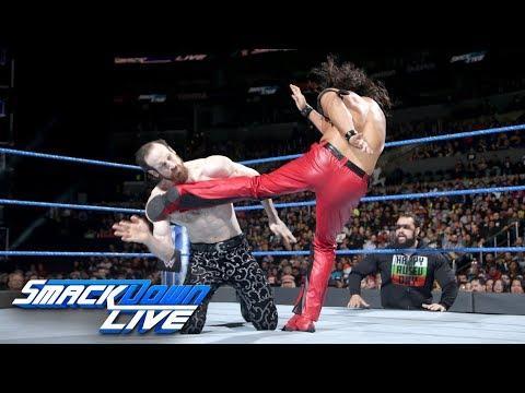 Shinsuke Nakamura vs. Aiden English: SmackDown LIVE, Feb. 27, 2018