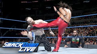Shinsuke Nakamura vs. Aiden English: SmackDown LIVE, Feb. 27, 2018