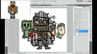 Pro Drawing Livestream w/ Sidera, NLP and Finsgraphics - 7-1-2013