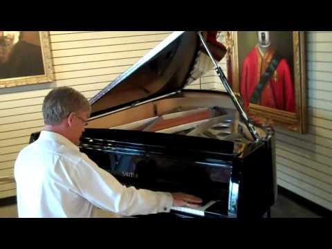 Sauter Vivace Art Deco Grand Piano - R.KASSMAN, San Francisco / Berkeley CA USA