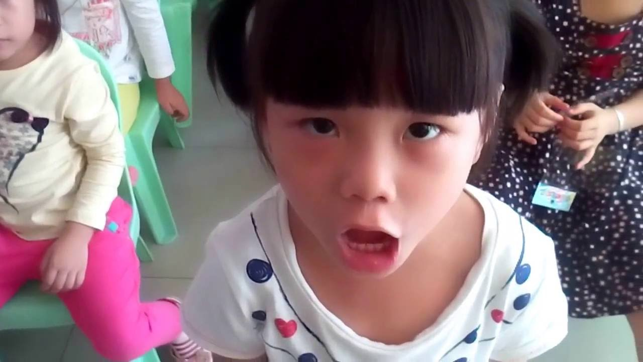 Cute Little Asian Girl Tries Singing Justin Biebers Baby