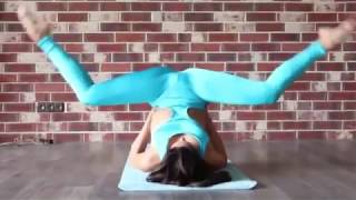 Contortion gymnastics challenge Julia Yoga Flexible gymnastics contortion FLEXIBILITY Stretches