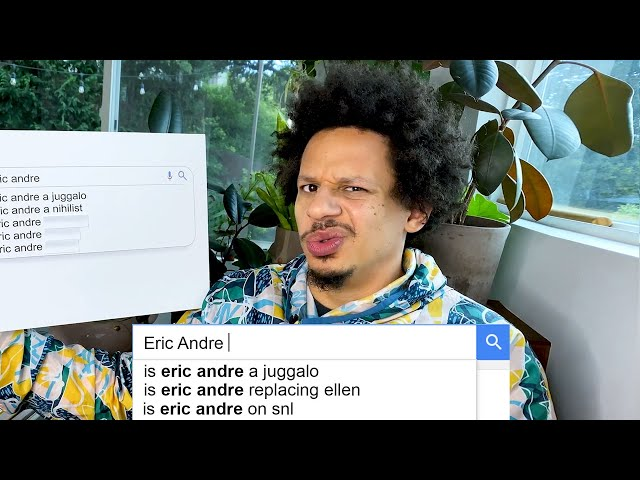Eric Andre Answers the Web's Most Searched Questions...Again   WIRED