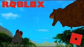 Roblox Jurassic Park - Rex Vs Spino! (FAIL)