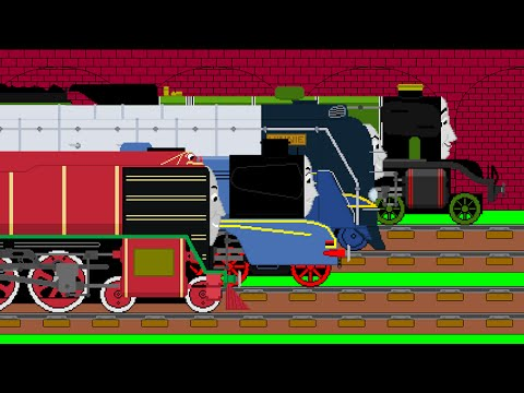 Thomas and Friends Animated Song (Let's Have A Race) (VISION 2)